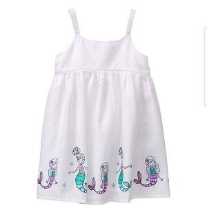 Gymboree Toddler Mermaid Border Dress